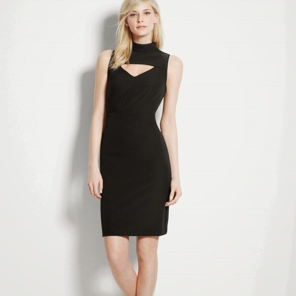 Ann Taylor Dresses & Skirts - Kate Hudson for Ann Taylor NWT Leather Trim Dress